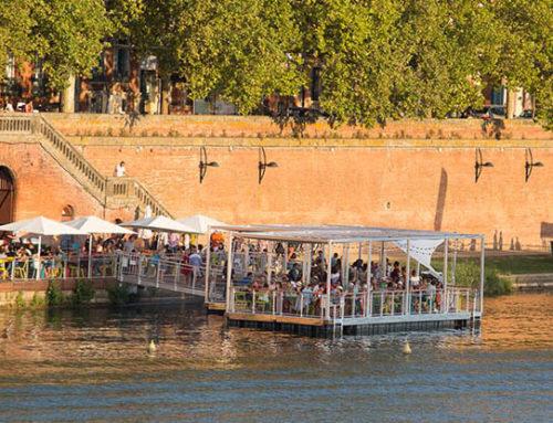 Eté 2015-2016-2017-2018 : Guinguette flottante (Toulouse Métropole)