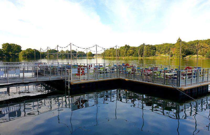 Terrasse flottante