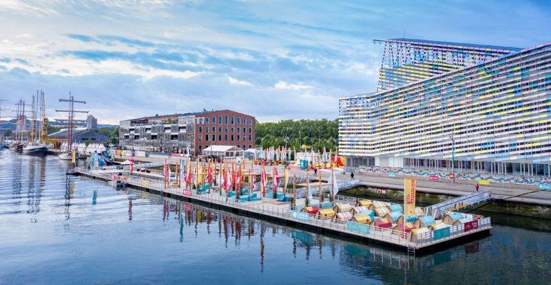 Juin 2019 : Armada de Rouen Plateforme flottante événementielle